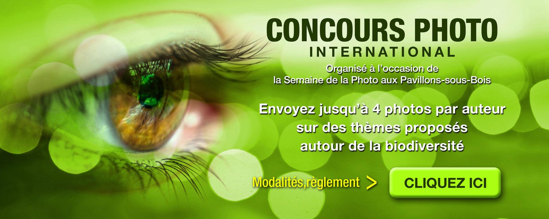 """Concours photo """"Biodiversité, nos futurs"""" des Semaines de la Photo 2020"""